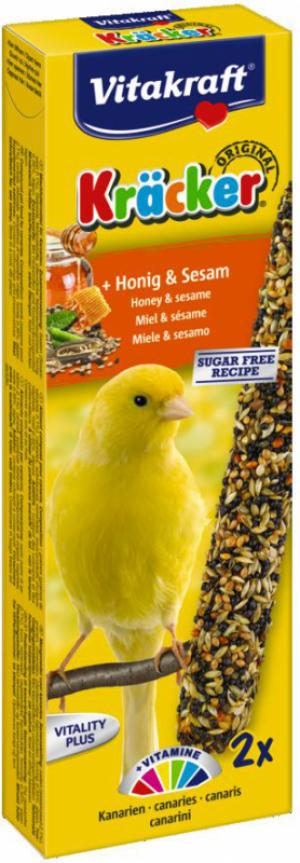 Vitakraft Kräcker kanarie met honing en sesam