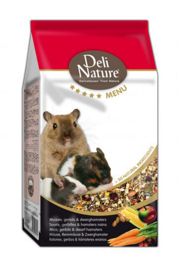 Deli Nature 5* menu muis/gerbil/dwerghamster