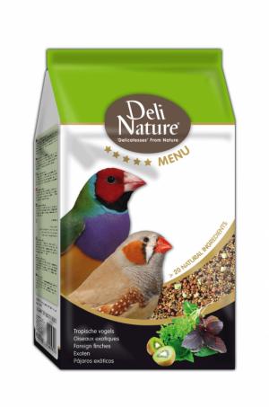 Deli Nature 5 sterren menu tropische vogels