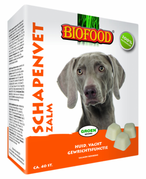 Biofood Schapenvet Zalm maxi