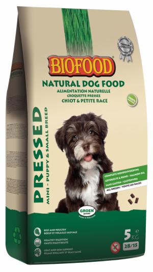 Biofood Geperst Mini - Puppy & SB 5kg