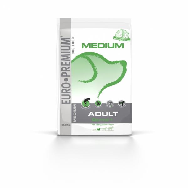 Euro Premium Medium Adult Derma+