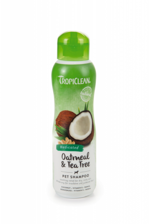Tropiclean Oatmeal Tea Tree Shampoo