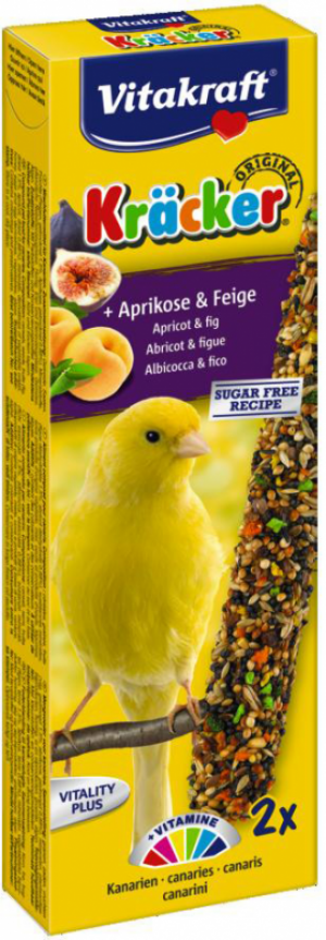 Vitakraft Kräcker kanarie met abrikoos en vijg