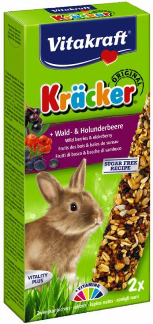 Vitakraft Kräcker konijn met bos- en vlierbessen