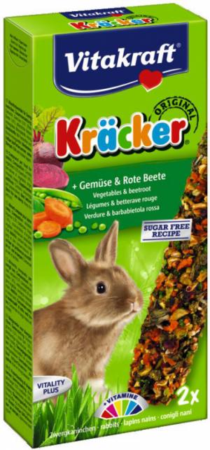 Vitakraft Kräcker konijn met groente en bieten