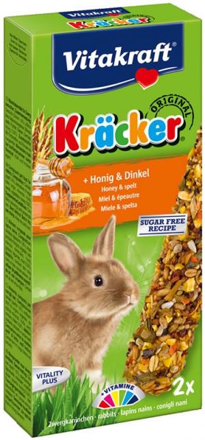 Vitakraft Kräcker konijn met honing en spelt