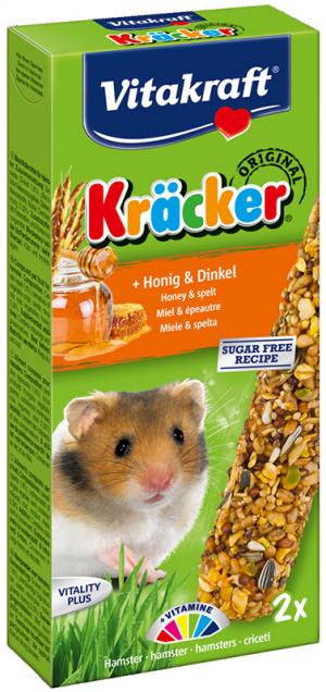 Vitakraft Kräcker hamster met honing en spelt
