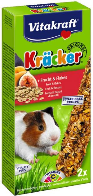 Vitakraft Kräcker cavia met fruit en flakes