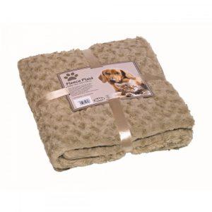 Nobby Fleece Plaid Super Soft Beige 100x150 cm