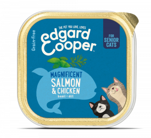 Edgard & Cooper Kat Kuipje Senior Zalm&Kip
