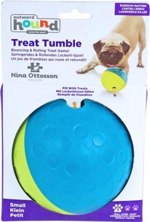 Nina Ottosson treat tumble, small. (Ø 10,5 cm)