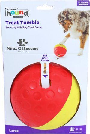 Nina Ottosson treat tumble, large. (Ø 13,5 cm)