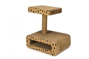 Beeztees Jaguar - Krabspeelgoed - Karton - 50x35x56 cm