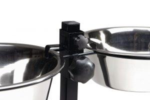 Beeztees Standaard - Dinerset Hond - Zwart - 25 cm