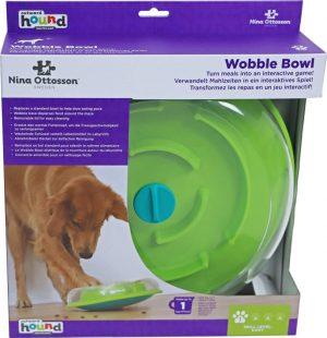 Nina Ottosson hondenspel wobble bowl.