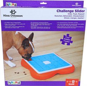 Nina Ottosson hondenspel challenge slider.