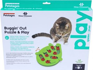 Nina Ottosson kattenspel puzzle & play buggin out.