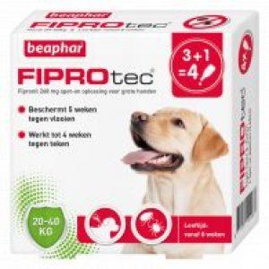 Fiprotec Spot-On Hond 3+1 pipetten