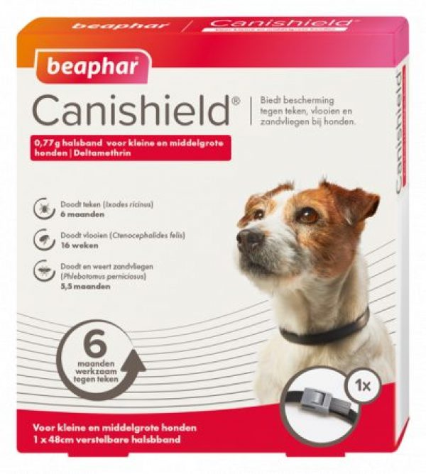 Canishield halsband hond klein / middelgroot