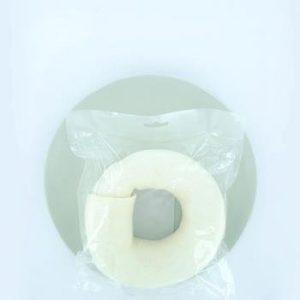Witte ring gr. 6 inch (15cm) 1st