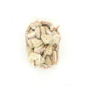 Koekhartjes met zalm 400g