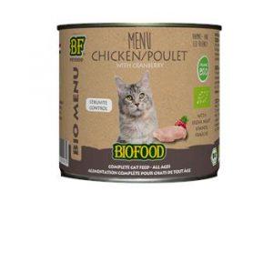 Biofood Organic kip menu kat