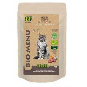 Biofood Organic rund menu kat