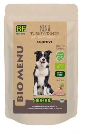 Biofood Organic kalkoen menu hond