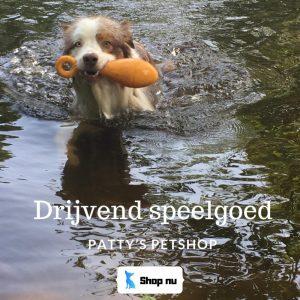 Drijvend Speelgoed voor de hond