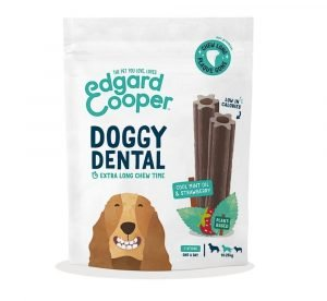 Edgard Cooper Doggy Dental Munt & Aardbei