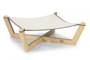 Designed by Lotte Gaia - Kattenhangmat - Hout - Grijs