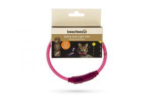 Beeztees Safety Gear Flashix - Kattenhalsband - 35 cm