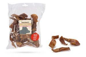 Beeztees Varkensoorstukjes Voordeel - 500 gram - *KIES & MIX VOLUME ZAKKEN * 2 VOOR 10 EURO*