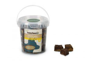 Beeztees Kip Cubes met Insecten en Rund - 250 gram