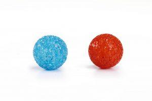 Beeztees Glitter Bal - Kattenspeelgoed - 4 cm - 2ST