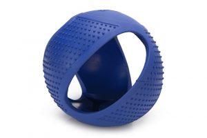 Beeztees Frisbee bal - Hondenspeelgoed - Rubber - Blauw - 16 cm