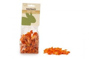 Beeztees Wortel Chips - Knaagdierensnack - 130 gram