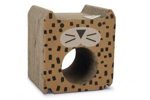 Beeztees Pantira - Krabspeelgoed - Karton - 35x30x38,5 cm
