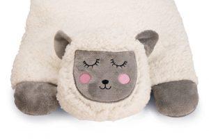 Beeztees Kitten Lama Casto - Kattenkussen - Pluche - Wit - 60X40X12 cm