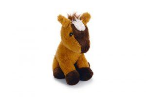 Beeztees Paard Arona - Hondenspeelgoed - Pluche - 25x19x18 cm